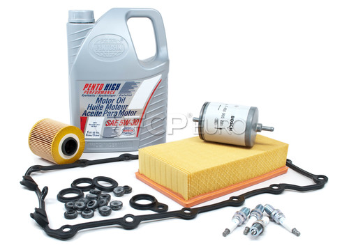 BMW Tune Up and Filters Kit with Oil (E30 318i 318is) - E30TUNEKIT2-Oil