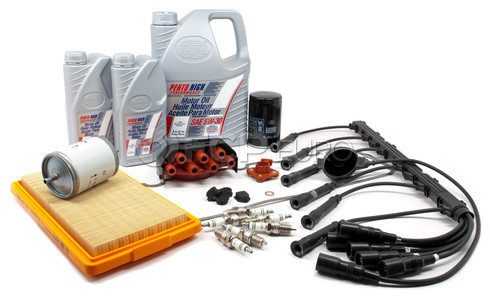 BMW Complete Tune Up and Filters Kit with Oil (E30 325e) - E30TUNEKIT3-Full