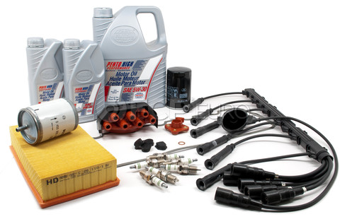 BMW Complete Tune Up and Filters Kit with Oil (E30 325e) - E30TUNEKIT4-Full