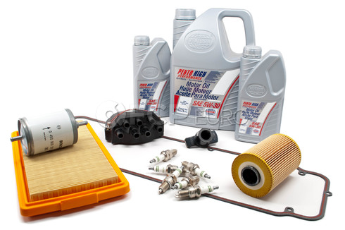 BMW Tune Up and Filters Kit with Oil (E28 533i) - E28TUNEKIT5-Oil