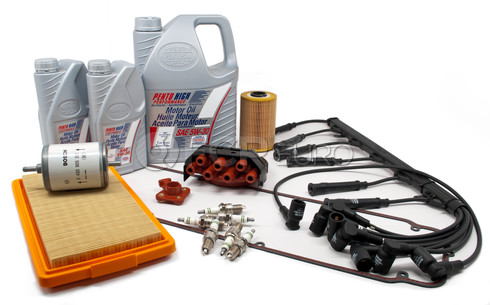 BMW Complete Tune Up and Filters Kit with Oil - E28TUNEKIT6-Full