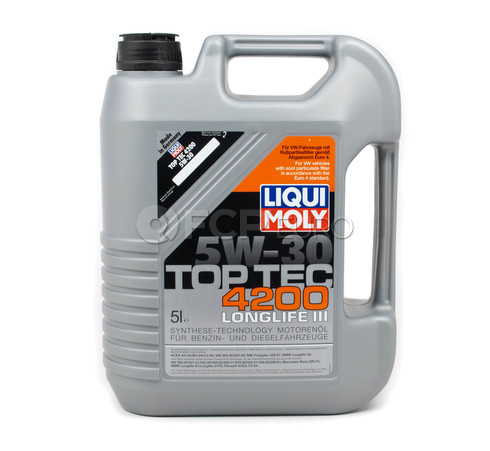 5W-30 Motor Oil HC Synthetic (5 Liters) - Liqui Moly LM3707