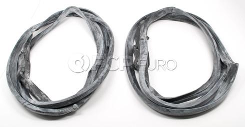 Mercedes Benz Door Seal Gasket Kit Rear (W126) - URO W126reardoorkit