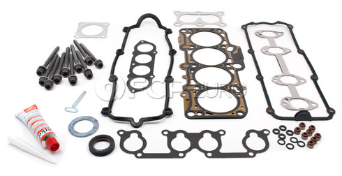 VW Cylinder Head Gasket Set with Head Bolts - Elring VW20HEADSET1