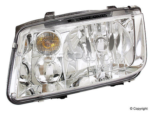 VW Headlight Assembly - TYC 1J5941017AJ