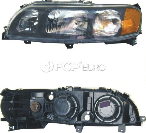 Volvo headlight Assembly Left (S60 w/ Halogen) - Economy 8693583