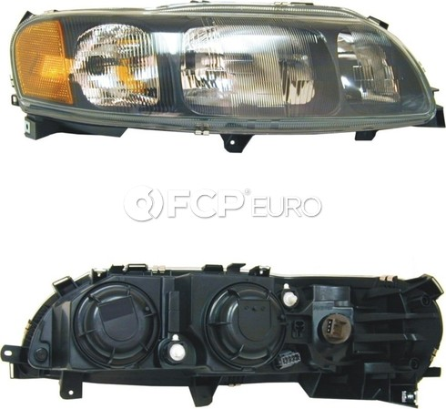 Volvo headlight Assembly Right (S60 w/ Halogen) - Economy 8693584