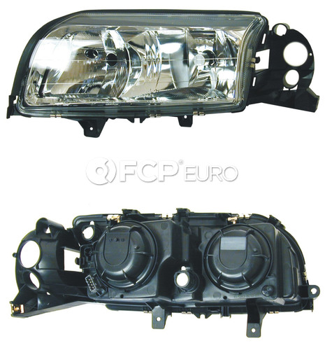 Volvo headlight Assembly Left (S80 w/ Halogen) - URO Parts 8693553