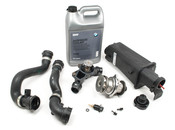 BMW Cooling System Overhaul Kit With Water Pump (E46) - E46COOLKIT