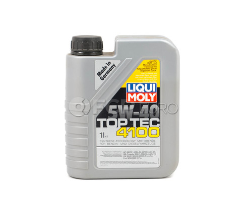5W-40 Motor Oil Full-Synthetic (1 Liter) - Liqui Moly LM3700