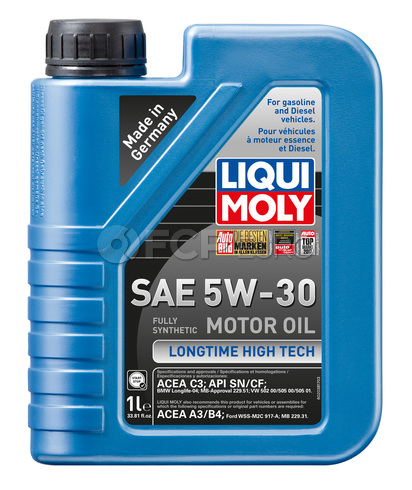 5W30 Longtime High-Tech Engine Oil (1 Liters) - Liqui Moly LM2038