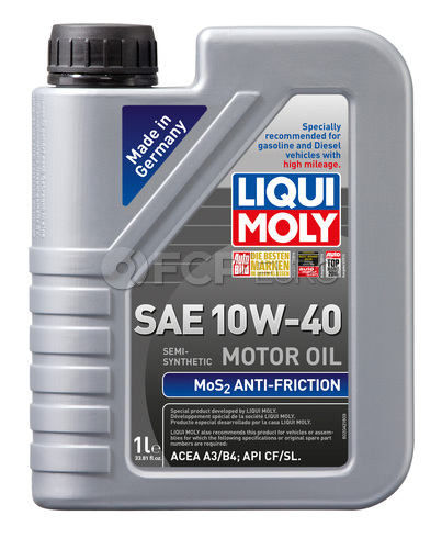 10W-40 Motor Oil Semi-Synthetic (1 Liter) - Liqui Moly LM2042