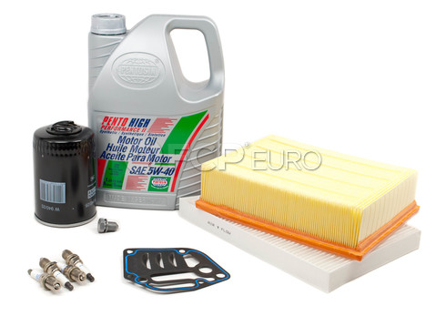 Audi Service Kit with Spark Plugs and Oil (A4 1.8T) - A41.8TUNEKIT2-Oil