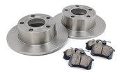Audi VW Brake Kit - Brembo/Akebono 110139