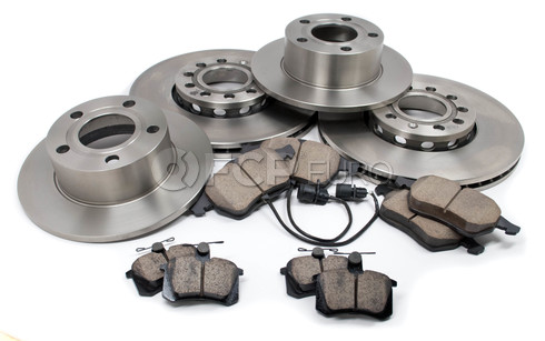 Audi VW Brake Kit - Brembo/Akebono 110141