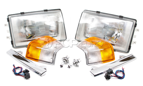 Volvo 240 European E Code Headlights (240 244 245) - 240ECODEKIT