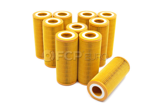 Audi Engine Oil Filter Case of 10 (A4 A6 Q5 A5) - Economy 041-8189