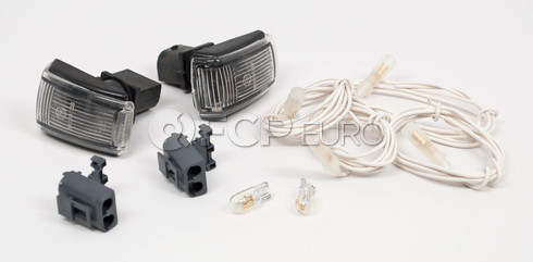 Volvo Side Marker Light Adapter Kit (All Clear) - Genuine 9178885KITOEM