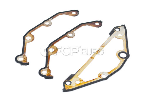 BMW Timing Cover Gasket Set Lower - Genuine BMW 11141439717