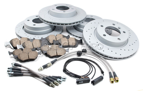 BMW Performance Brake Kit (E36) - Akebono/Zimmermann E36BRAKEKIT1