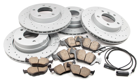 BMW Performance Brake Kit (E36) - Akebono/Zimmermann E36BRAKEKIT2