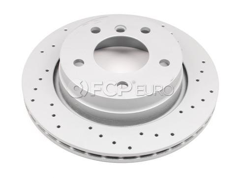 BMW Drilled Brake Disc (E36 E46) - Zimmermann Sport 34216855155