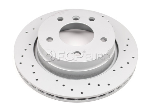 BMW Drilled Brake Disc (E36 E46) - Zimmermann Sport 34216855155