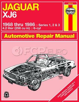 Jaguar Haynes Repair Manual (XJ6) - Haynes HAY-49010