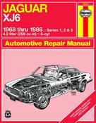 Jaguar Haynes Repair Manual (XJ6) - Haynes HAY-49010