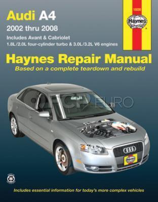 Audi Haynes Repair Manual (A4) - Haynes HAY-15030