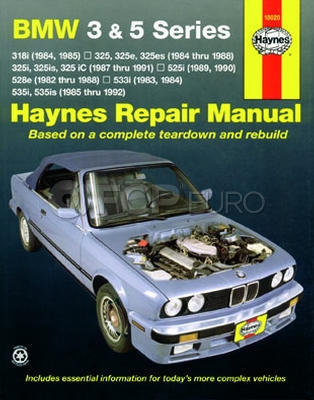 BMW Haynes Repair Manual (3 & 5 Series) - Haynes HAY-18020