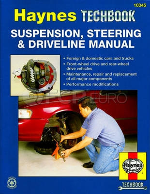 Haynes Repair Manual (Suspension, Steering & Driveline) - Haynes HAY-10345