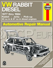 VW Haynes Repair Manual ( Rabbit Jetta 77-84 ) - Haynes HAY-96020