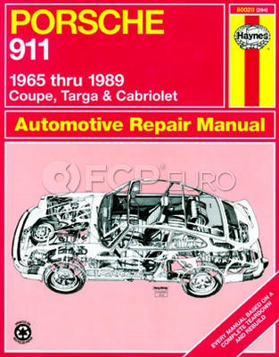 Porsche Haynes Repair Manual (911) - Haynes HAY-80020