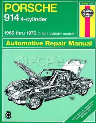 Porsche Haynes Repair Manual (914) - Haynes HAY-80025
