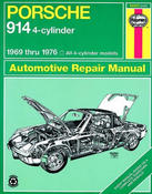 Porsche Haynes Repair Manual (914) - Haynes HAY-80025