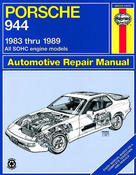 Porsche Haynes Repair Manual (924S 944) - Haynes HAY-80035