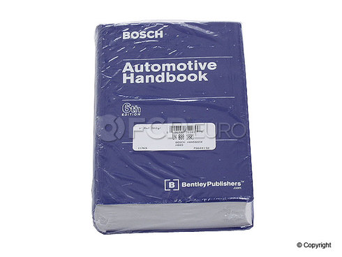 Bosch Automotive Handbook - Bentley H014