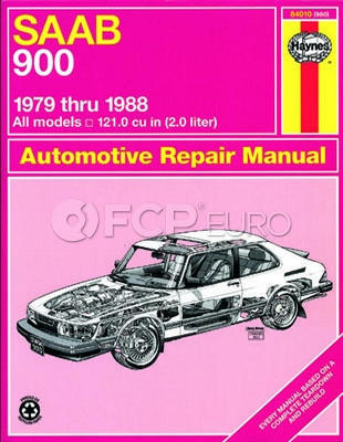 Saab Haynes Repair Manual (900) - Haynes HAY-84010
