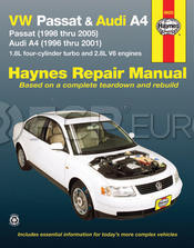VW Audi Haynes Repair Manual (Passat 98-05 A4 96-01) - Haynes HAY-96023