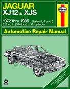 Jaguar Haynes Repair Manual (XJ12 XJS) - Haynes HAY-49015