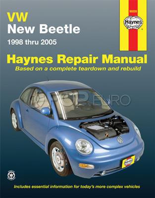 VW Haynes Repair Manual (New Beetle) - Haynes HAY-96009