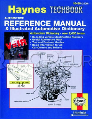 Haynes Repair Manual (Reference Manual & Dictionary) - Haynes HAY-10430