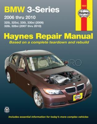 BMW Haynes Repair Manual (E90 E91 E92) - Haynes 18023