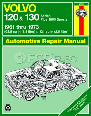 Volvo Haynes Repair Manual (120 130 P1800 Sport) - Haynes HAY-97010