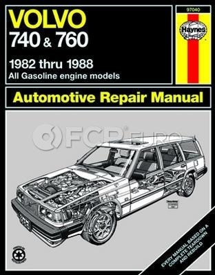 Volvo Haynes Repair Manual (740 745 760) - Haynes HAY-97040