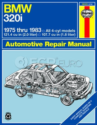 BMW Haynes Repair Manual (320i) - Haynes HAY-18025