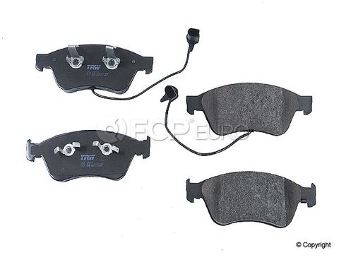 AudiBrake Pad Set (A8) Jurid - 4E0698151