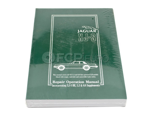 Jaguar Repair Manual (XJ12 XJS) - Bentley YJWS