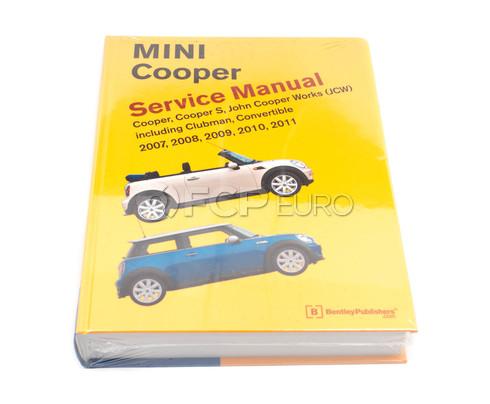 Mini Repair Manual (Cooper) - Bentley BM11